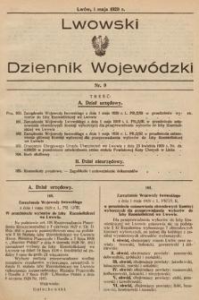 Lwowski Dziennik Wojewódzki. 1929, nr9