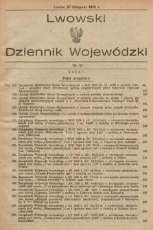Lwowski Dziennik Wojewódzki. 1929, nr19