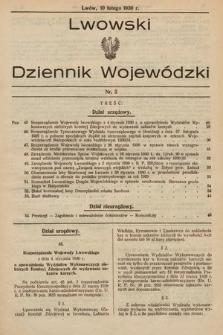 Lwowski Dziennik Wojewódzki. 1930, nr2