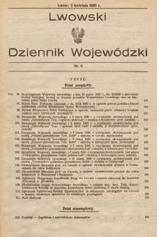Lwowski Dziennik Wojewódzki. 1930, nr6