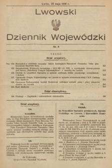 Lwowski Dziennik Wojewódzki. 1930, nr8
