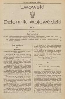 Lwowski Dziennik Wojewódzki. 1930, nr11