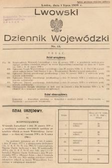 Lwowski Dziennik Wojewódzki. 1939, nr13