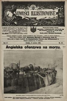 Nowości Illustrowane. 1918, nr22