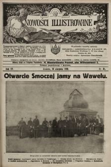 Nowości Illustrowane. 1918, nr31