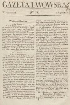 Gazeta Lwowska. 1823, nr78