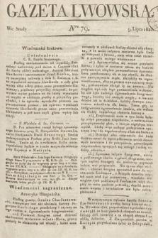 Gazeta Lwowska. 1823, nr79