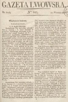 Gazeta Lwowska. 1823, nr107