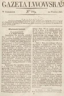 Gazeta Lwowska. 1823, nr109