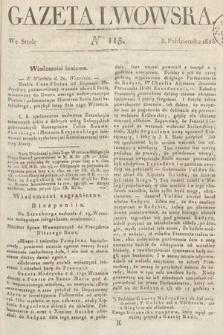 Gazeta Lwowska. 1823, nr115
