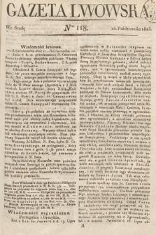 Gazeta Lwowska. 1823, nr118