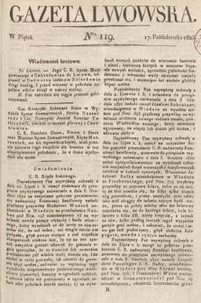 Gazeta Lwowska. 1823, nr119