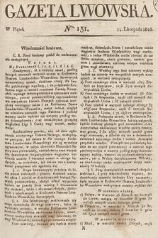 Gazeta Lwowska. 1823, nr131