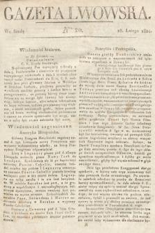 Gazeta Lwowska. 1824, nr20