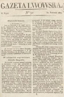 Gazeta Lwowska. 1824, nr50