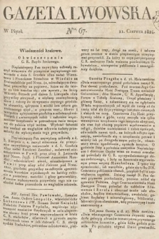 Gazeta Lwowska. 1824, nr67