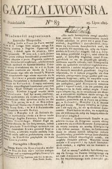 Gazeta Lwowska. 1824, nr83