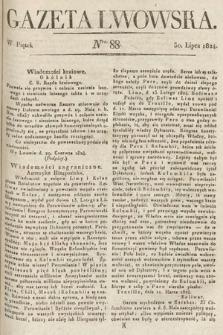 Gazeta Lwowska. 1824, nr88