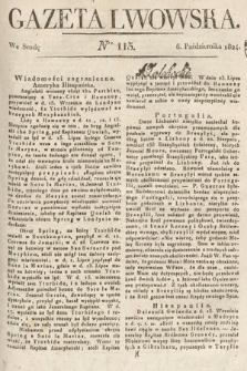 Gazeta Lwowska. 1824, nr115