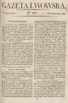 Gazeta Lwowska. 1824, nr120