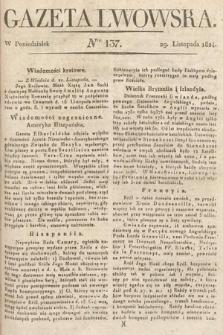 Gazeta Lwowska. 1824, nr137