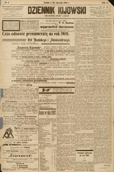 Dziennik Kijowski : pismo społeczne, polityczne i literackie. 1908, nr4