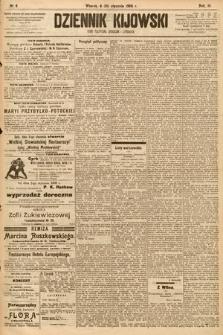 Dziennik Kijowski : pismo społeczne, polityczne i literackie. 1908, nr6