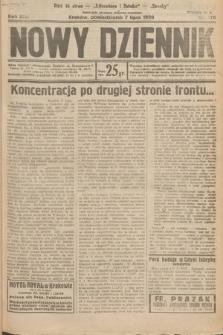 Nowy Dziennik. 1930, nr176