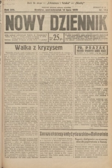 Nowy Dziennik. 1930, nr183
