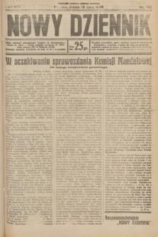 Nowy Dziennik. 1930, nr185