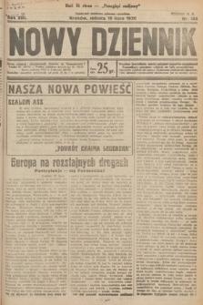 Nowy Dziennik. 1930, nr188