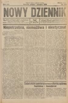 Nowy Dziennik. 1930, nr201