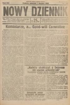 Nowy Dziennik. 1930, nr207