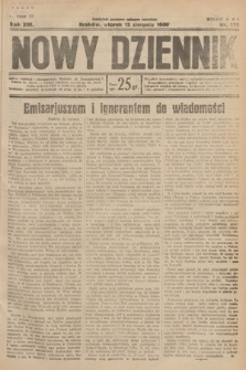 Nowy Dziennik. 1930, nr212