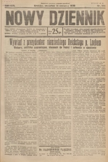 Nowy Dziennik. 1930, nr214