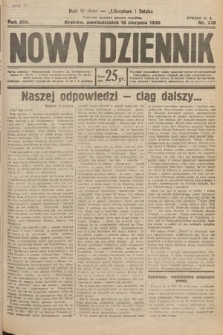 Nowy Dziennik. 1930, nr218
