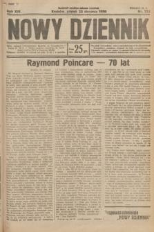 Nowy Dziennik. 1930, nr222