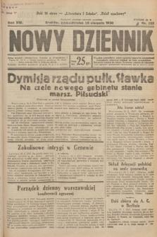 Nowy Dziennik. 1930, nr225