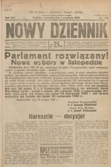 Nowy Dziennik. 1930, nr232