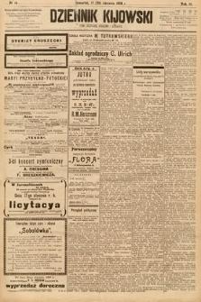 Dziennik Kijowski : pismo społeczne, polityczne i literackie. 1908, nr14