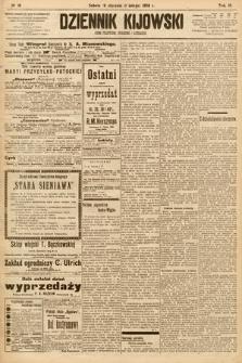 Dziennik Kijowski : pismo społeczne, polityczne i literackie. 1908, nr16