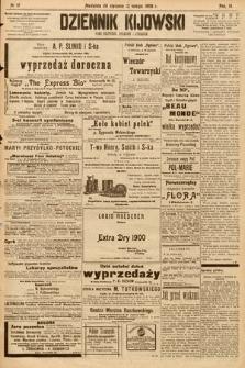 Dziennik Kijowski : pismo społeczne, polityczne i literackie. 1908, nr17