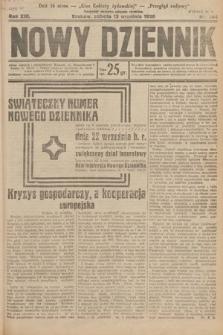 Nowy Dziennik. 1930, nr244
