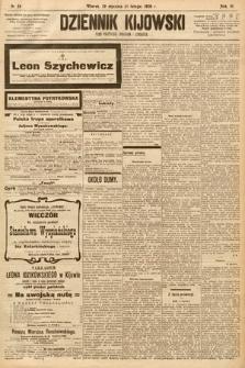 Dziennik Kijowski : pismo społeczne, polityczne i literackie. 1908, nr24