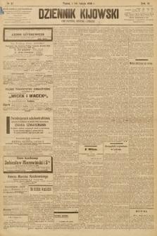 Dziennik Kijowski : pismo społeczne, polityczne i literackie. 1908, nr27
