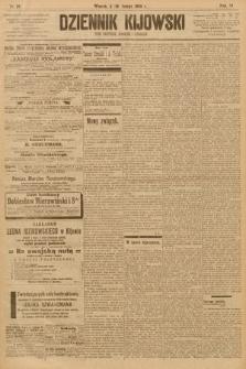 Dziennik Kijowski : pismo społeczne, polityczne i literackie. 1908, nr29