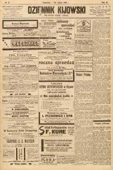 Dziennik Kijowski : pismo społeczne, polityczne i literackie. 1908, nr31