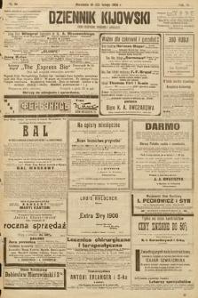 Dziennik Kijowski : pismo społeczne, polityczne i literackie. 1908, nr34