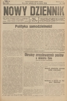 Nowy Dziennik. 1930, nr251