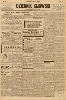 Dziennik Kijowski : pismo społeczne, polityczne i literackie. 1908, nr57